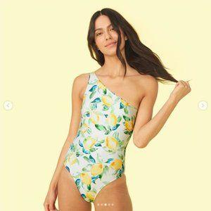 Summersalt Sidestroke - Lemon Print - Size 12  NWT